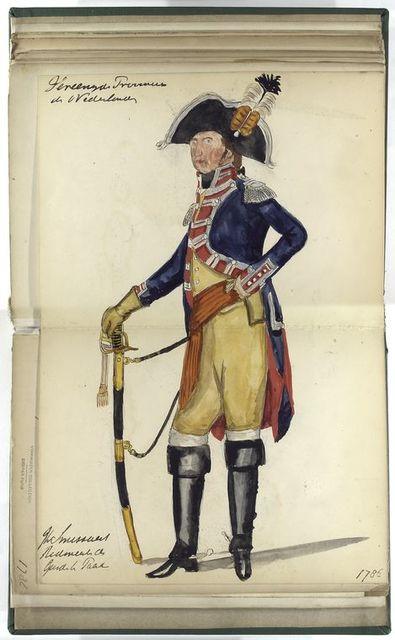 [...] der Garde te Paard. 1786