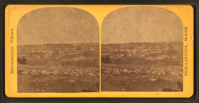 East Holliston, from Leland's Hill.