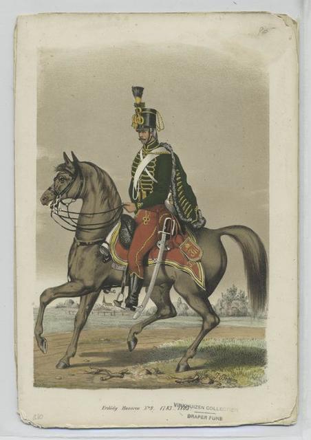 Erdödy Husaren No. 9.  1783-1805