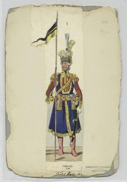 Gallizische Leibgarde. 1786