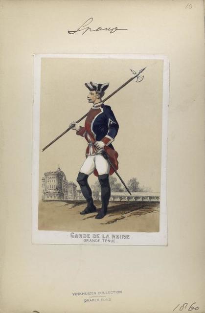 Garde de la Reine (grande tenue). 1860