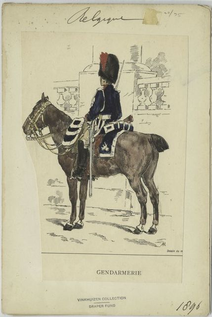Gendarmerie. 1896