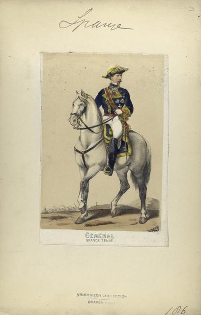 Général (grande tenue). 1860