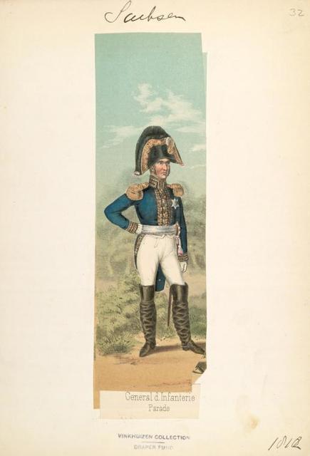 Germany, Saxony, 1810-1812