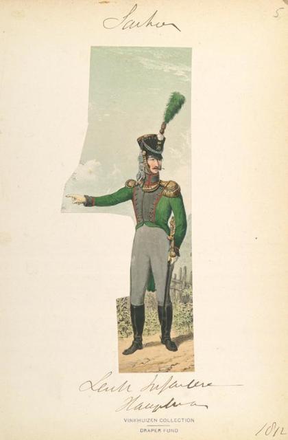 Germany, Saxony, 1812-1813