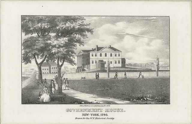 Government House New York 1795