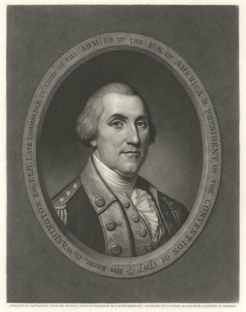 His Excel. G: Washington Esq.