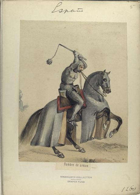 Hombre de armas. 1260