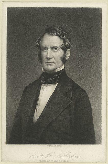 Honble. Wm. A. Graham, Secretary of the U.S. Navy.