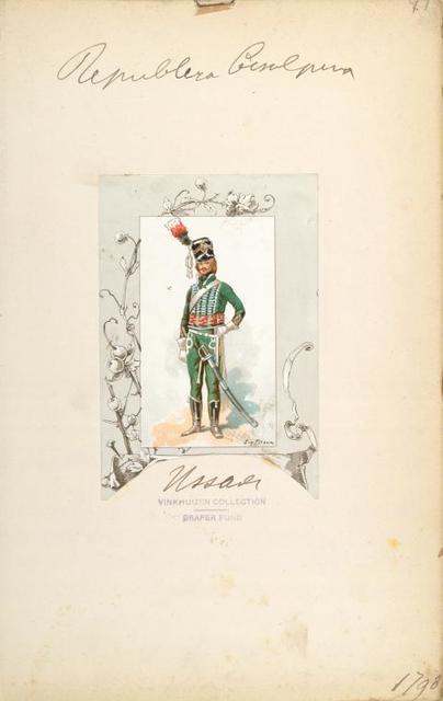 Italy, Minor States, 1796-1798.