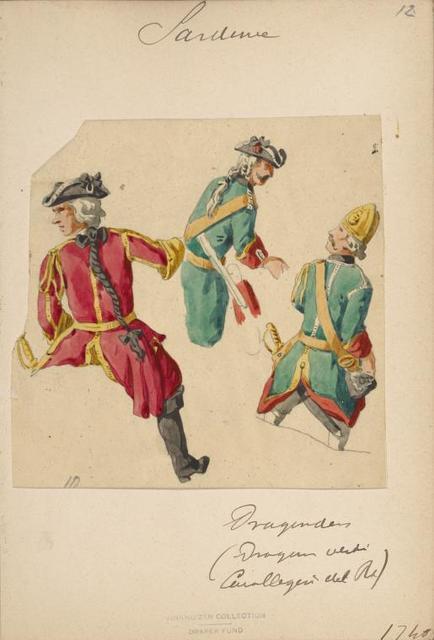 Italy. Piedmont and Savoy, 1730-1747