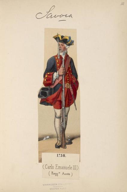 Italy. Piedmont and Savoy, 1751-1775