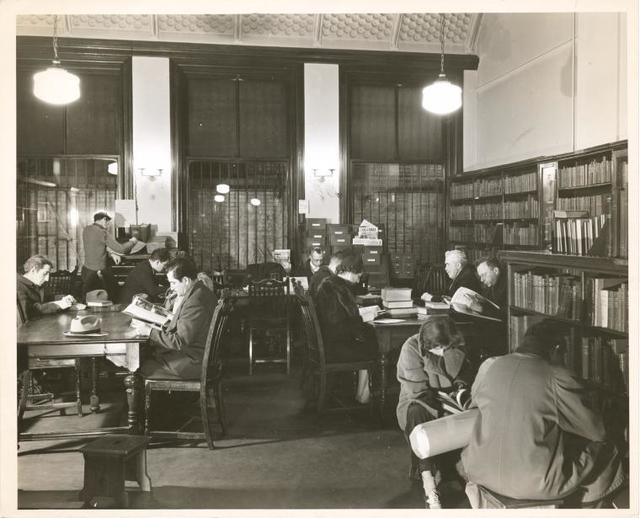 [Jackson Square] Adult Reading Room, West 13th Street