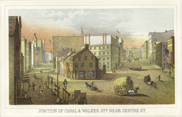 Junction of Canal & Walker Sts. Near Centre St.