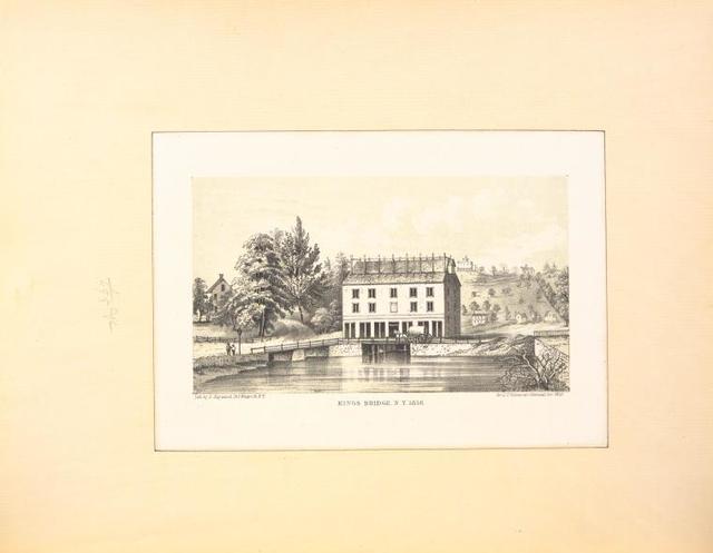 Kings Bridge, N. Y. 1856.