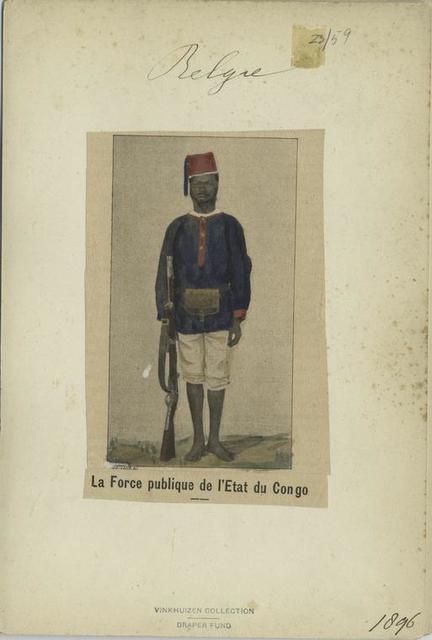 La Force publique de l'Etat du Congo