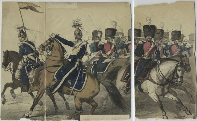 Lanciers & Guides.  [1853]