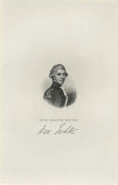 Lt. Col. Banastre Tarlton.