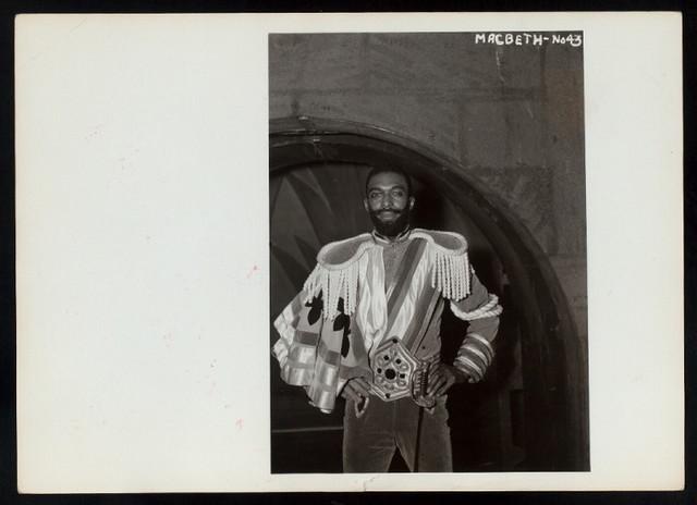 Macbeth, by William Shakespeare, photo file 'A'
