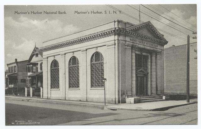 Mariner's Harbor National Bank.