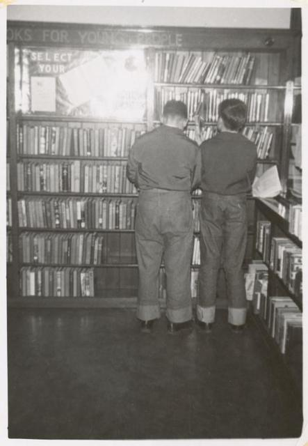 [Morrisania, Two young readers, Books for Young People.]