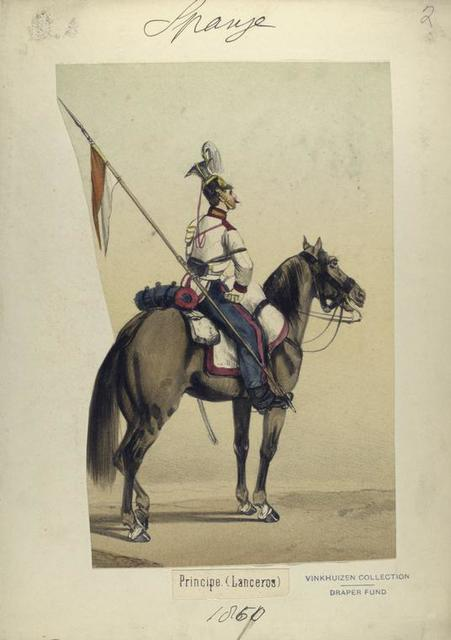 Principe. (Lanceros). 1860
