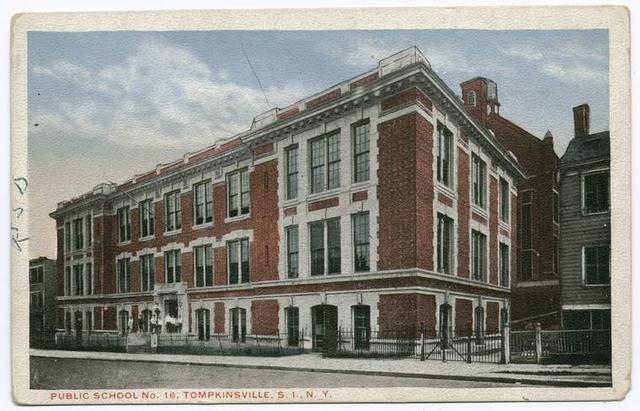 Public School No. 16, Tompkinsville, S.I., N.Y.