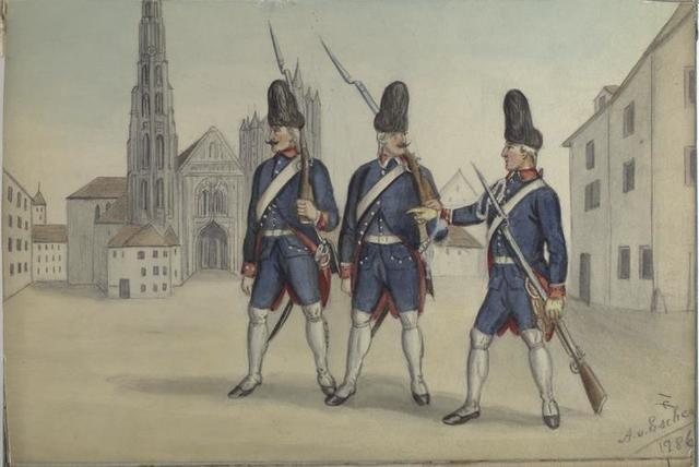 Regiment Schotsch. Grenadiere. 1786
