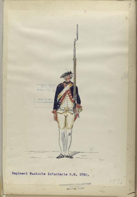 Regiment Waalsch Infanterie R. W. 1752-1795