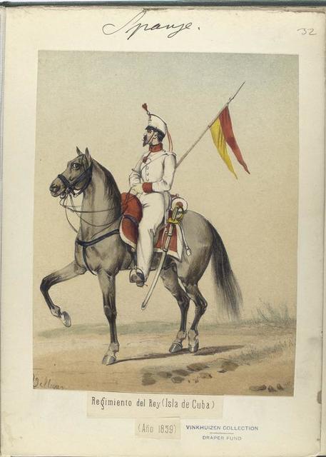 Regimiento del Rey (Isla de Cuba). 1859