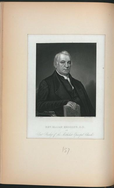 Rev. Elijah Hedding, D.D., late senr. bishop of the Methodist Episcopal Church.