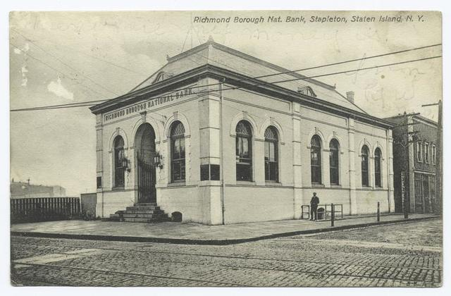 Richmond Borough National Bank, Stapleton, Staten Island, N.Y.