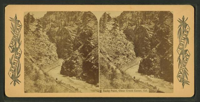 Rocky Point, Clear Creek Canyon, Col.
