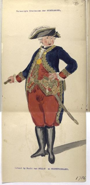 Schout by Nacht van Hollan en West Friesland. 1786
