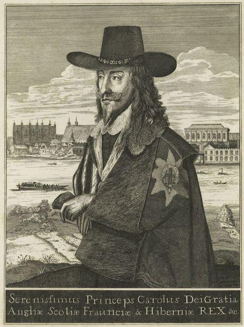 Serenissiums princeps Carolus dei gratia Angliae Scotiae Fraunciae & Hiberniae Rex &c.