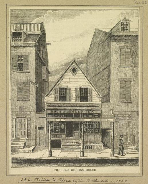 The Old Rigging House.