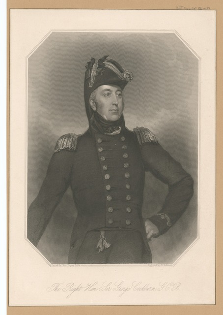 The Right Hon. Sir George Cockburn, G.C.B.