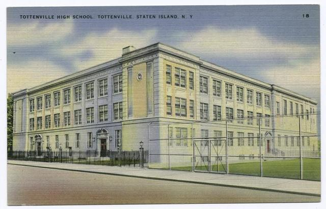 Tottenville High School, Tottenville, Staten Island, N.Y.