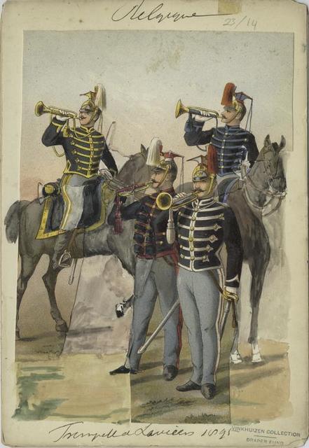 Trompetter lanciers 1895