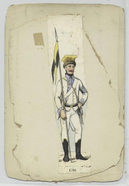 Uhlanen 1786