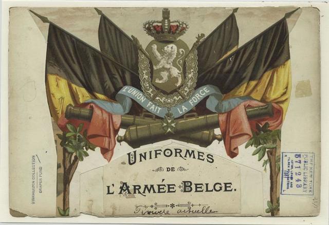 Uniformes de l'armée Belge