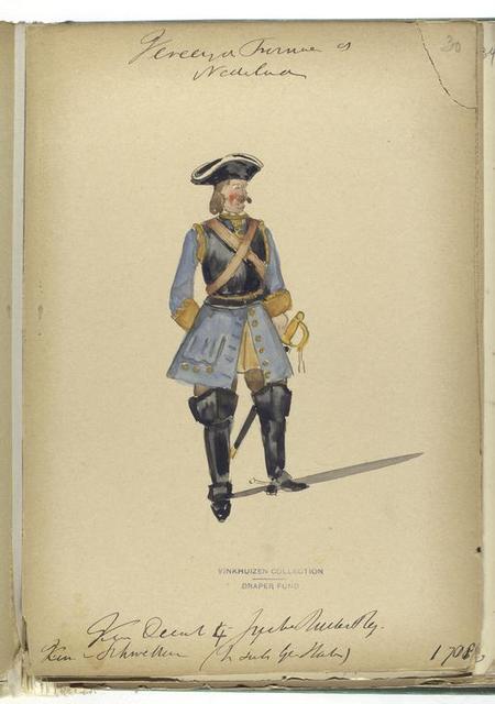 Vereenigde Provincien de Nederlanden.  [...] 1708