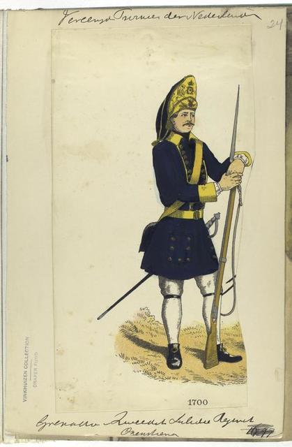 Vereenigde Provincien de Nederlanden. Grenadero .... 1700
