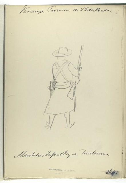 Vereenigde Provincien de Nederlanden. [...] Infanterie Reg. Van Friesheim. 1691
