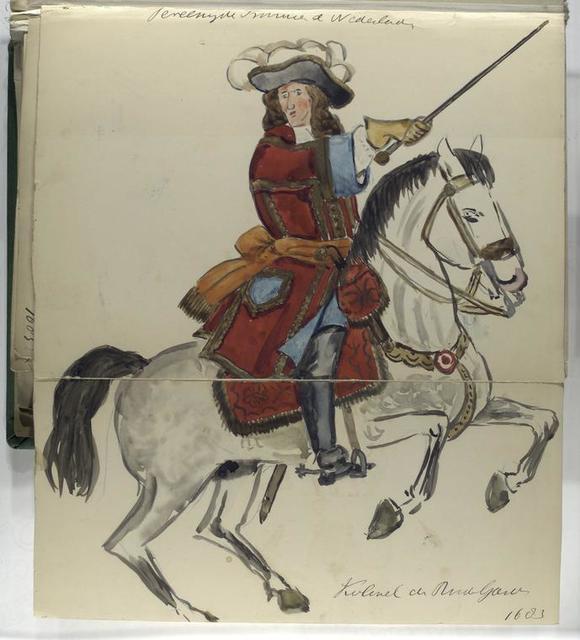 Vereenigde Provincien der Nederlanden Kolonel de . Garde. 1683
