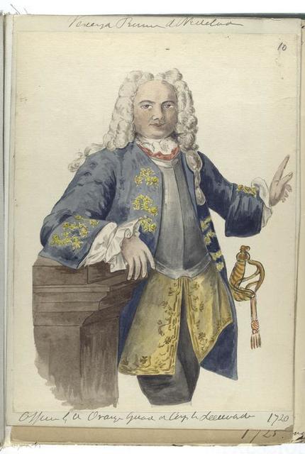 Vereenigde Provincien der Nederlanden.  [Officier ] 1720