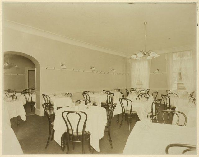 View of dining room
