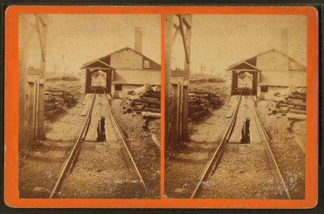 View up No. 20 Plane, of the Pa. Coal Co.'s Gravity Road.