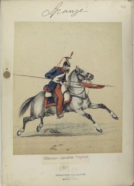 Villaviciosa (Lanceros) Proyecto. 1861