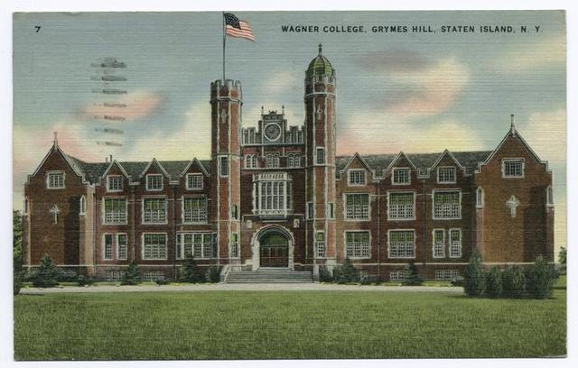 Wagner College, Grymes Hill, Staten Island, N.Y.